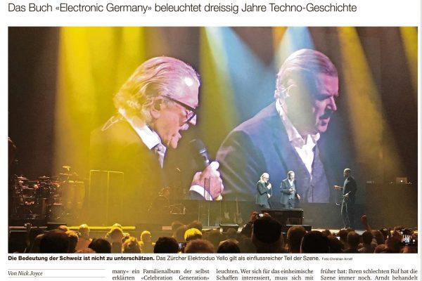 Electronic Germany Rezension von Nick Joyce für die Basler Zeitung.